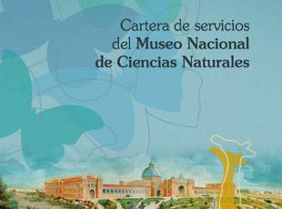 CSIC. Ministerio de Economía y Competitividad - Cartera de servicios del MNCN. CSIC.
