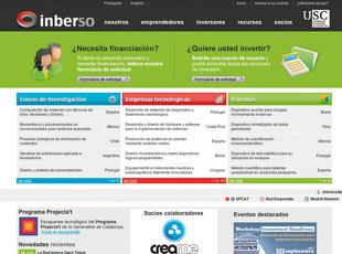 Inberso. Uniemprende. Universidad de Santiago de Compostela. - Imagen y web corporativa Inberso