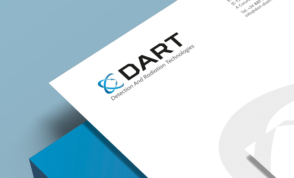 DART<br />(Detection And Radiation Technologies) - Diseño de identidad corporativa