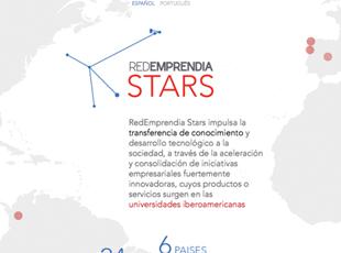 Redemprendia - Diseño de logo y web Redemprendia Stars