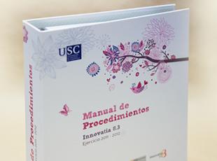 Universidad de Santiago de Compostela. Programa Woman Emprende - Diseño de imagen de marca y maquetación editorial